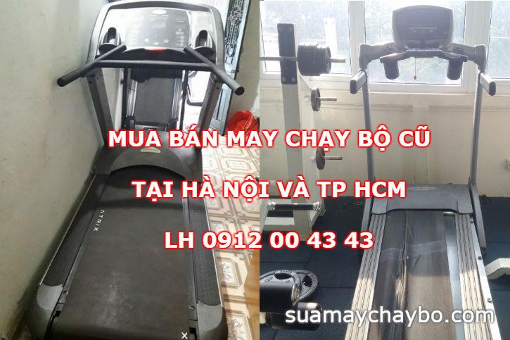 Mua bán máy chạy bộ cũ tại Hà Nội và TP HCM