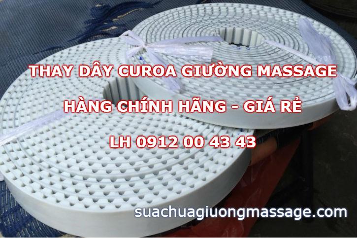 Thay dây curoa giường massage tại nhà