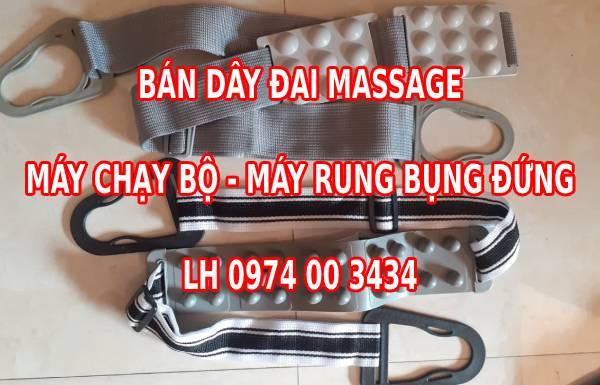 Bán dây đai massage máy chạy bộ