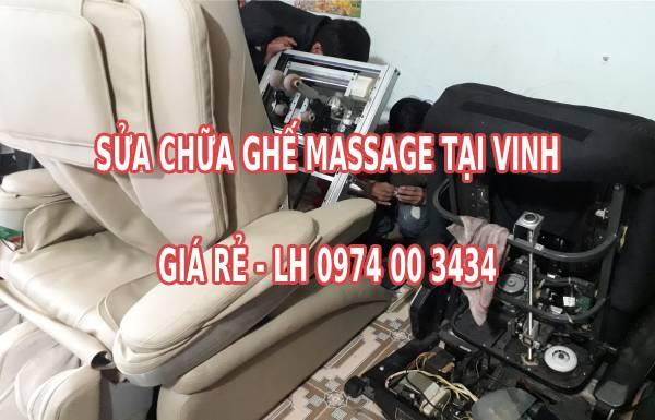 Sửa chữa ghế massage tại Vinh và Hà Tĩnh