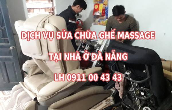 Dịch vụ sửa chữa ghế massage tại Đà Nẵng