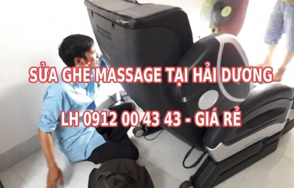 Sửa ghế massage tại nhà ở Hải Dương