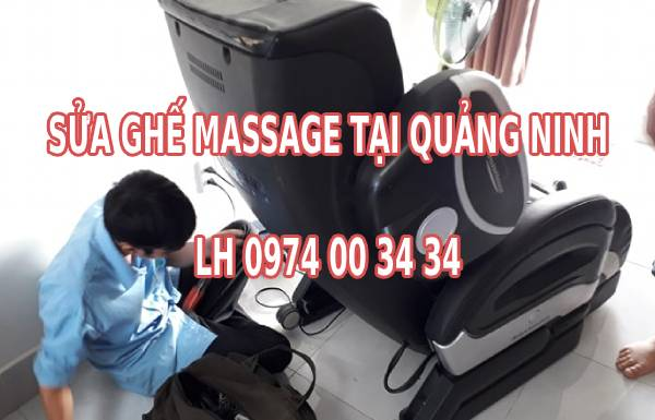Sửa chữa ghế massage tại Quảng Ninh