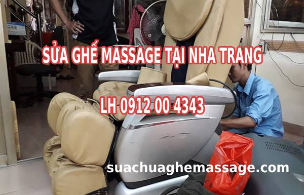 Sửa ghế massage tại Nha Trang - Khánh Hòa