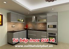 Tủ bếp inox