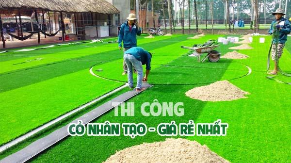 thi cong co nhan tao